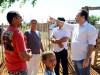 Lossio visita famílias de ocupação no Projeto Senador Nilo Coelho