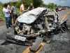 Grave acidente na PE 604 deixa vitima carbonizado