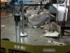 Teto de Loja desaba no River Shopping e deixa uma pessoa ferida