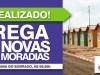 Prefeitura de Casa Nova entrega casas para 500 famílias em Santana do Sobrado