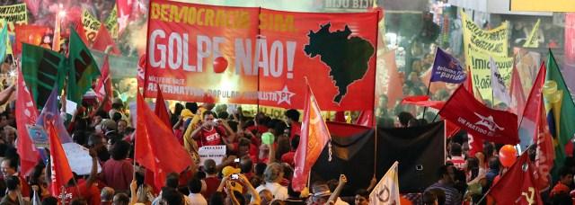 FRENTE BRASIL POPULAR FARÁ CARAVANA CONTRA O IMPEACHMENT