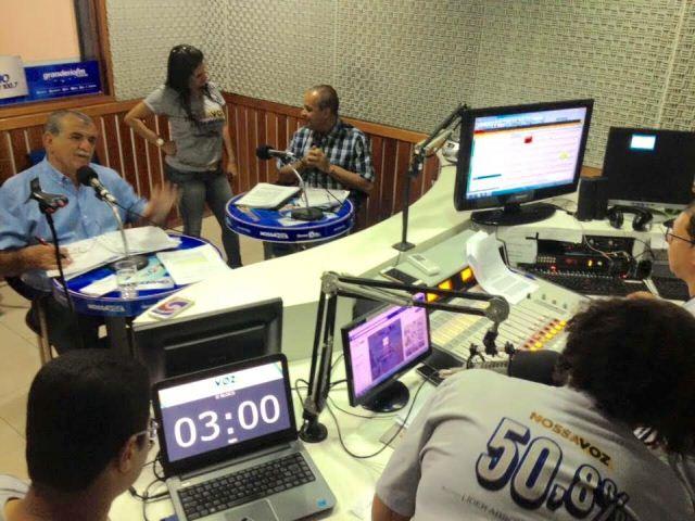 Entrevista na rádio Grande Rio FM